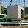 【ツカ開拓】ユニットハウスが届いたから屋根に遮光ネット張るよ(37万円)