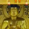 「寺というより美術館?ガラス張りのショーウインドごしに見る金の仏像」岩手県:中尊寺金色堂(800円)P400円
