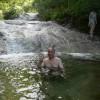 「カムイワッカ湯の滝」北海道【野湯】滝のすべてが温泉!強酸のぬるい混浴露天温泉