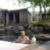 「からまつの湯(無料)」北海道【温泉】開放感バッチリ!お湯が透明で綺麗な混浴露天温泉