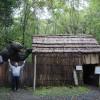 「ヒグマが8人食い殺した現場!三毛別ヒグマ事件の復元跡地」北海道:苫前