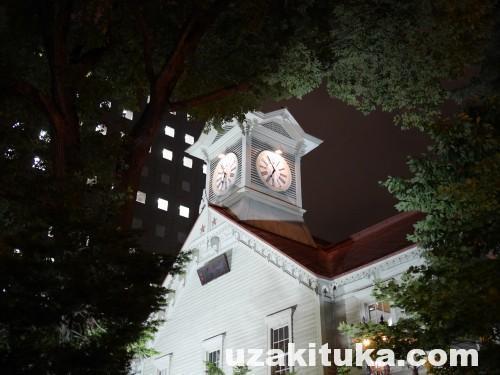「三大がっかり名所?ん!?これなの?静かに佇む白い時計台」北海道:札幌時計台