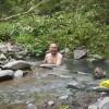 「川又温泉(無料)」北海道【野湯】行方不明者あり!川を遡った先にある混浴露天温泉