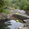「タヌキの湯」青森県【野湯】下湯ダムダム建設で廃業になった温泉旅館の混浴露天温泉
