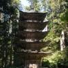 「羽黒山五重塔」山形県【観光】白き鳥が飛び立つが如く!素木造りの五重の塔【三名塔】