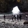 「竜の住む洞窟!?直径50メートルの天窓が開いた巨大洞窟!」静岡県:竜宮窟(P夏季有料)