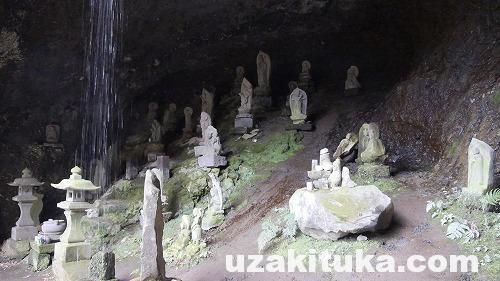 【観光】神奈川県「しとどの窟(いわや)」みっつの首なし地蔵を見ると死ぬ【心霊】