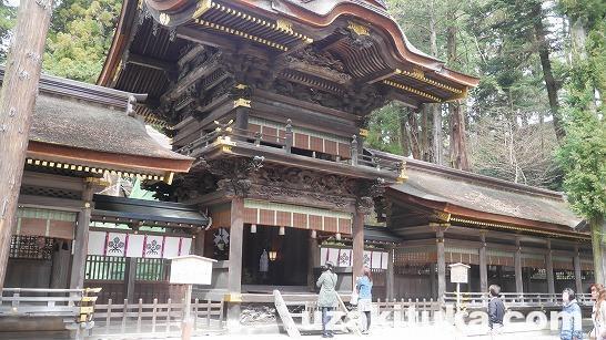 【観光】長野県諏訪大社「下社春宮」パワーあふれる結びの杉!2~7月しか神様いません