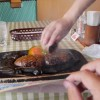 「げんこつハンバーグ(1058円)」静岡県【観光】100%牛肉炭焼さわやかハンバーグ