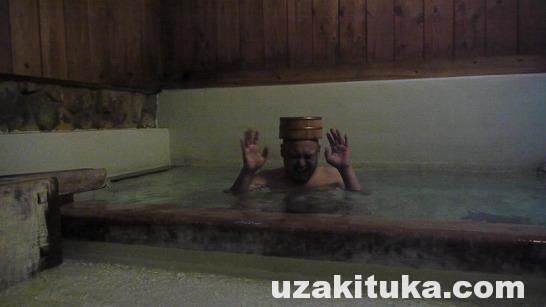 【温泉】群馬県【無料】草津温泉「煮川の湯」【車中泊旅行】2016