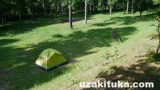 「いずみ湖公園キャンプ場(無料)」(予約制)長野県【キャンプ】諏訪湖の北東!静かな湖畔と広いサイト!のびのびできるキャンプ場