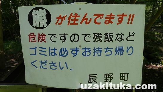 「蛇石キャンプ場(無料)」長野県【キャンプ】「熊が住んでいます!!」え!?マジで熊?蛇石は天然記念物だけど乗れる!