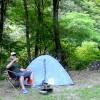 【キャンプ】長野県「二軒屋キャンプ場(無料)」秘境!山奥のさらに奥!川が綺麗な万古渓谷