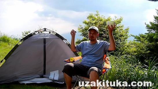 【キャンプ】長野県_天空のキャンプ場!山のてっぺんから見る中央・南アルプスが絶景!【無料】陣馬形山キャンプ場【P無料】(予約いらずでボットントイレ)車中泊旅行2016
