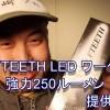 WOLFTEETH LED ワークライト 強力250ルーメン