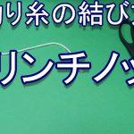 クリンチノット【釣り糸の結び方】