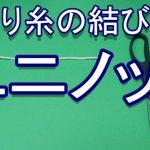 ユニノット【釣り糸の結び方】