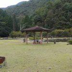 「朝倉ダム湖畔緑水公園キャンプ場(無料)」愛媛県【キャンプ】