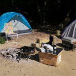 「美濃田の渕キャンプ場(無料)」徳島県【キャンプ】