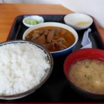 「もつ煮は日本一(もつ煮定食590円)」群馬県:永井食堂